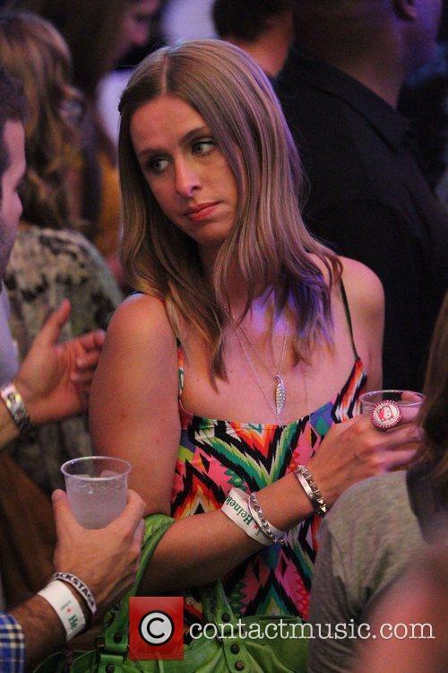 Nikki Hilton at the Coachella Music Festival 2010...