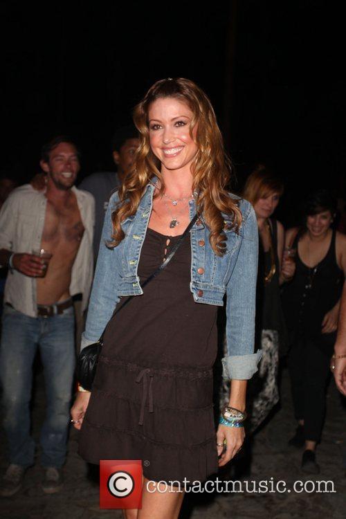 Shannon Elizabeth at the Coachella Music Festival 2010...