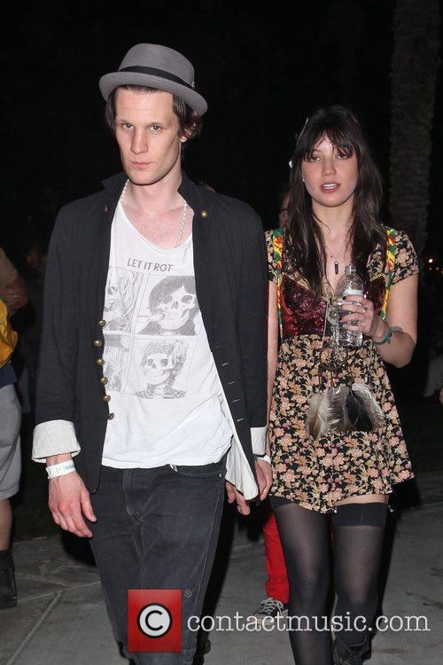 Matt Smith and Daisy Lowe at the Coachella...
