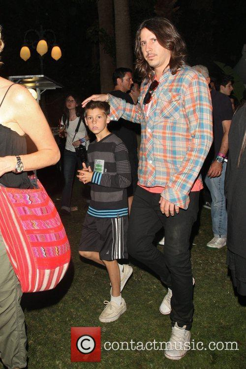 Cisco Adler at the Coachella Music Festival 2010...