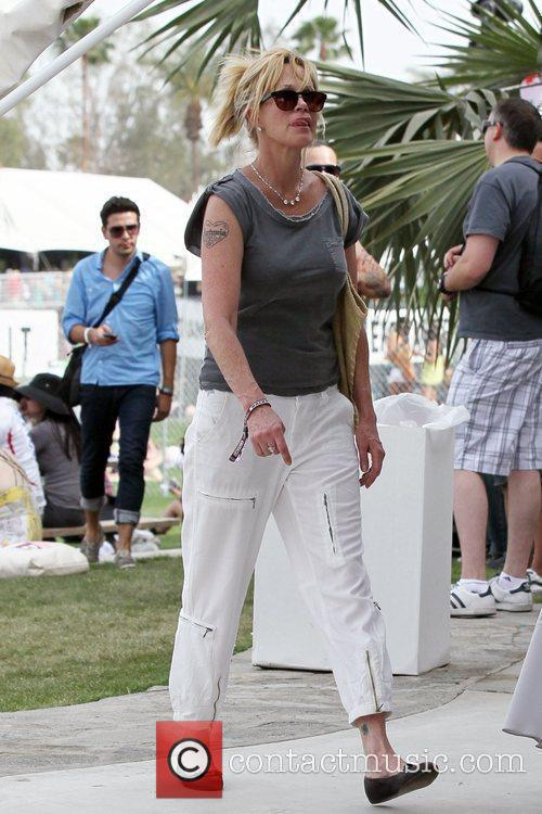 Melanie Griffith at the 2010 Coachella Valley Music...