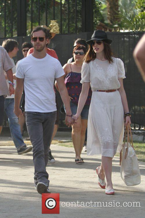 Anne Hathaway at the 2010 Coachella Valley Music...