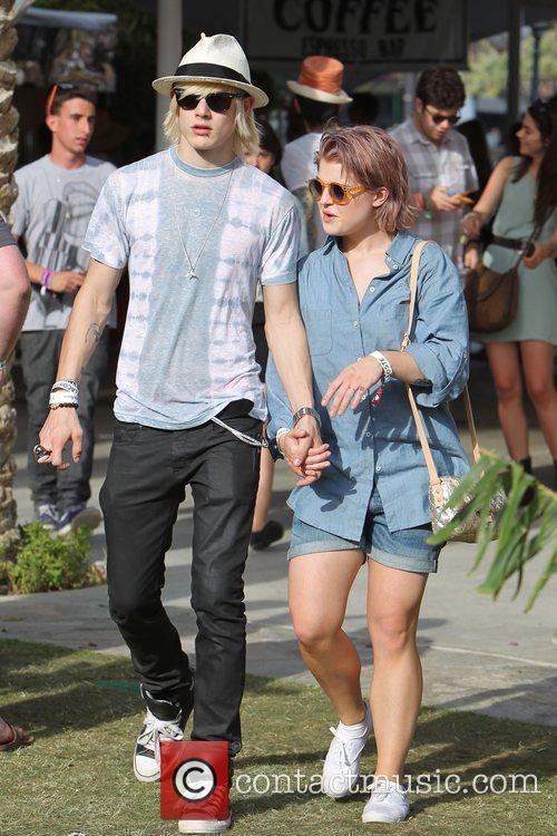 Kelly Osbourne and Luke Worrall at the 2010...