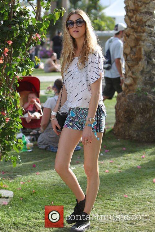 Whitney Port at the 2010 Coachella Valley Music...