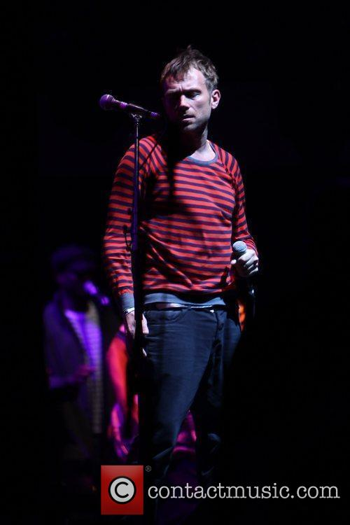 Damon Albarn of Gorillaz performing at the 2010...