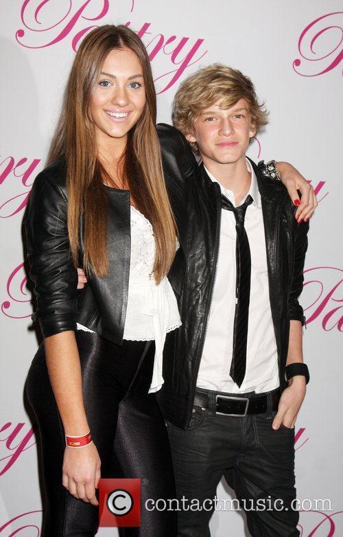 Jazmin Feldman and Cody Simpson Cody Simpson's 14th...