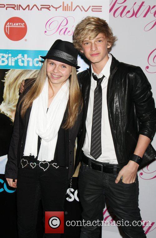 Ali Simpson and Cody Simpson Cody Simpson's 14th...