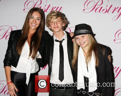 Jazmin Feldman, Cody Simpson and Ali Simpson Cody...