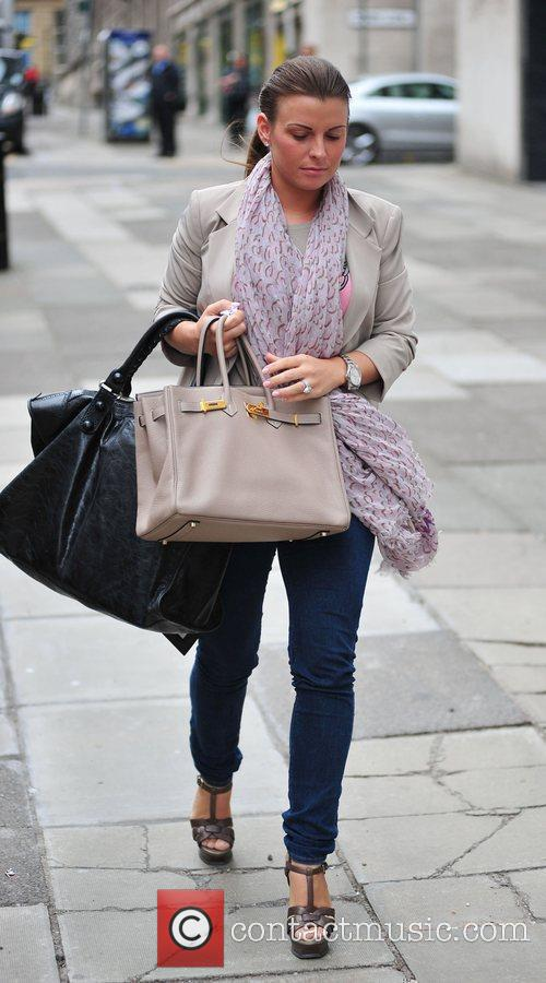 Coleen Rooney On Her Way Into Grey Space Photo Studio's To Do A Photo Shoot 5