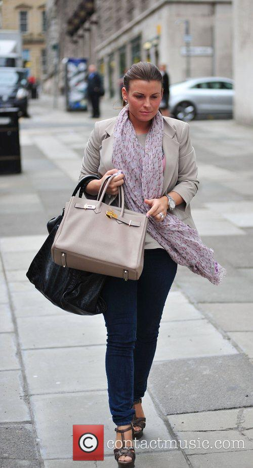 Coleen Rooney On Her Way Into Grey Space Photo Studio's To Do A Photo Shoot 3