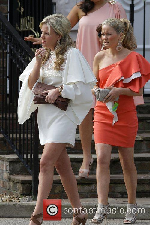 Leaving to go to Aintree race course for...