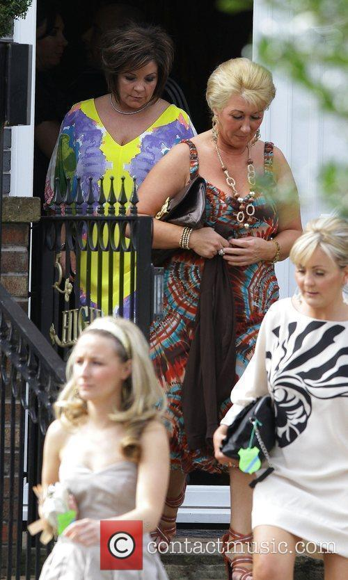 Colette McLoughlin leaving to go to Aintree race...