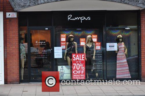 Rumpus, where Coleen Rooney did some shopping Cheshire,...