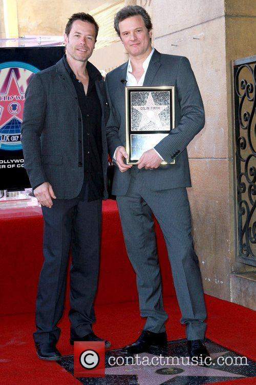 Colin Firth is honored with the 2,429th star...
