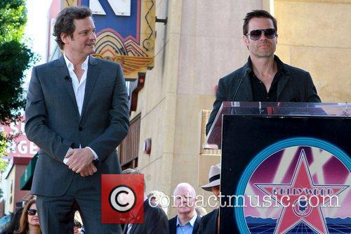 Colin Firth and Guy Pearce Colin Firth is...