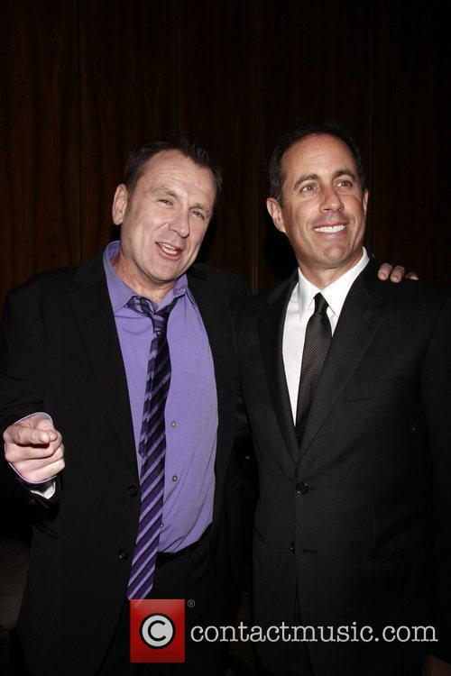 Colin Quinn and Jerry Seinfeld Opening night after...