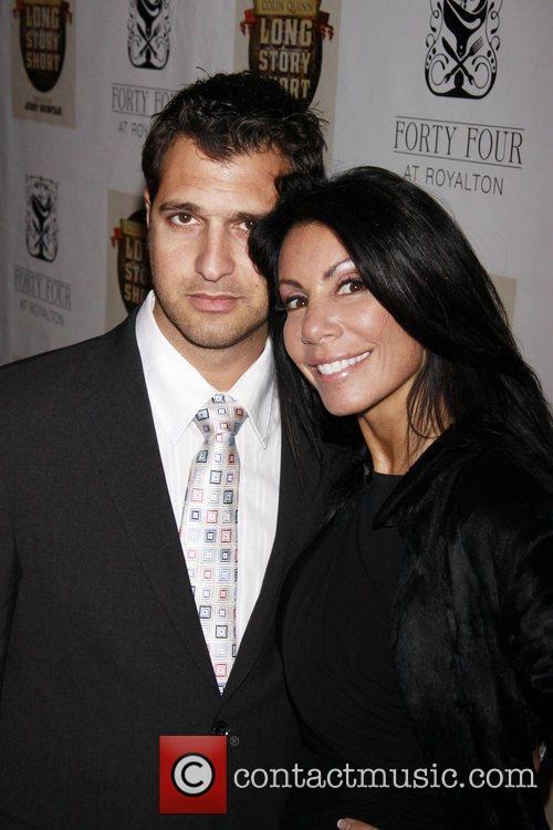 Danielle Staub and Sam Jemal  Opening night...