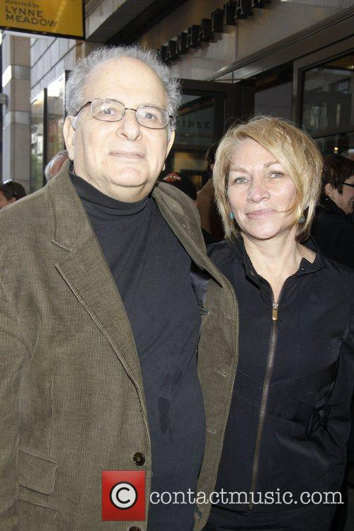 Alfred Uhry and Marie Brenner Opening night of...