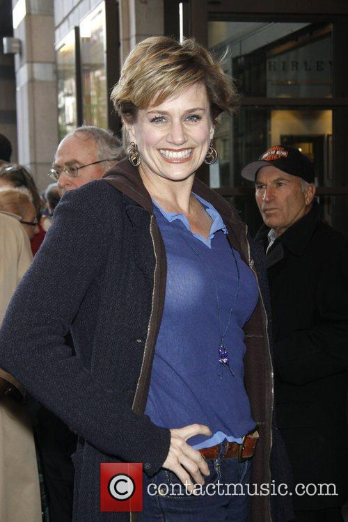 Cady Huffman Opening night of the Manhattan Theatre...