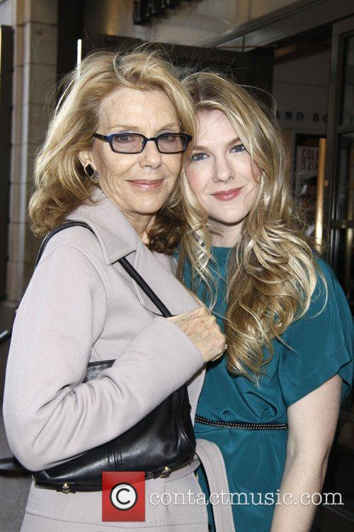 Jill Clayburgh and Lily Rabe Opening night of...