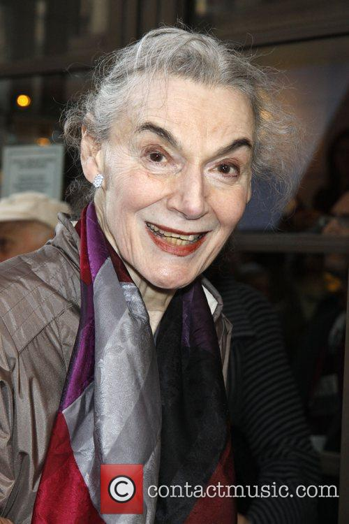 Marian Seldes Opening night of the Manhattan Theatre...