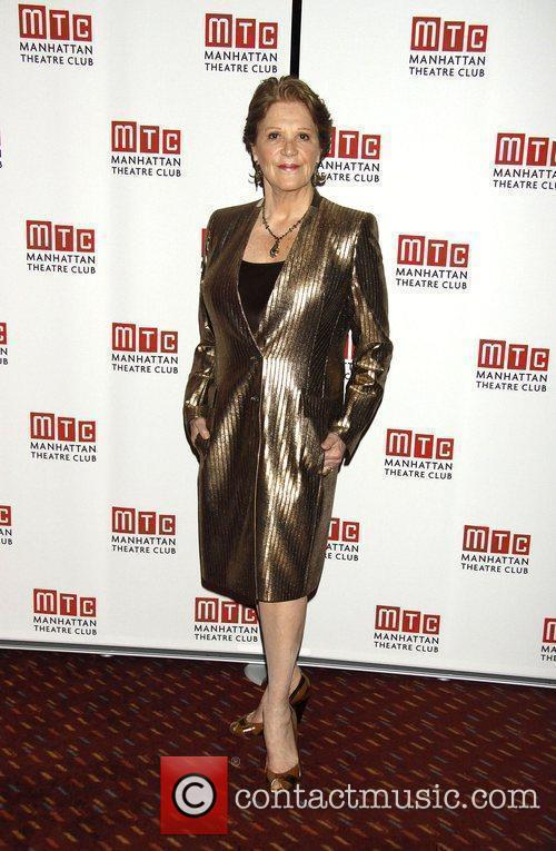 Linda Lavin  attending the opening night after...