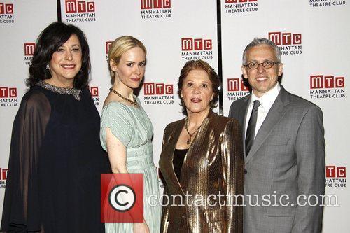 Lynne Meadow, Sarah Paulson, Linda Lavin, and Donald...