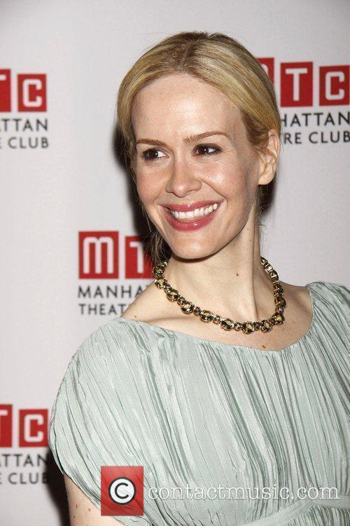 Sarah Paulson attending the opening night after party...