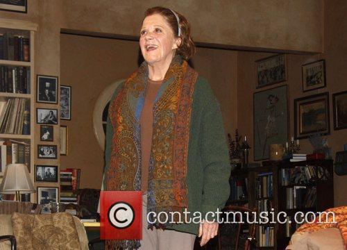 Linda Lavin  on stage during the opening...