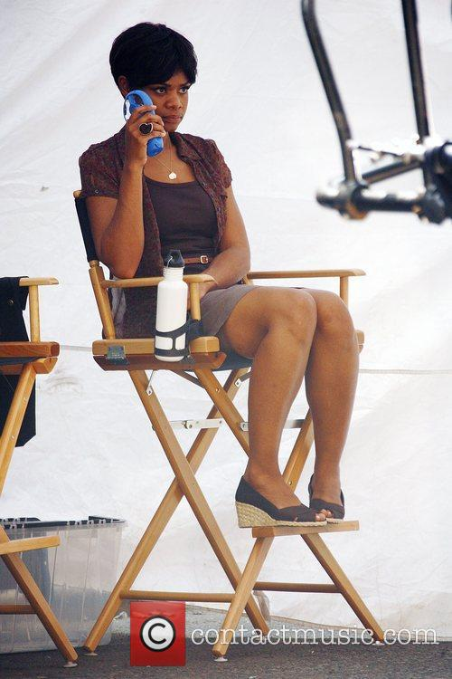 On the set of 'For Colored Girls Who...