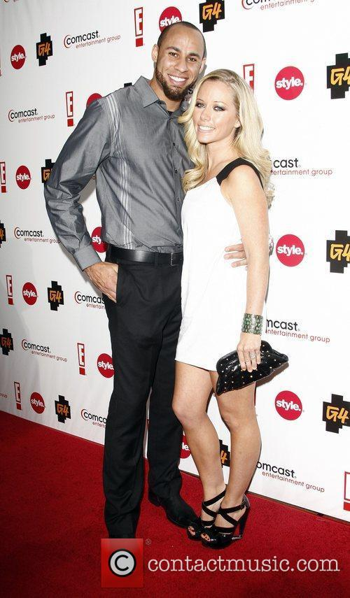 Kendra Wilkinson and husband Hank Baskett Comcast Entertainment...