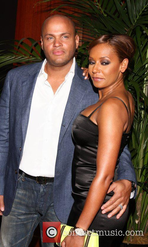 Stephen Belafonte and Mel B 1