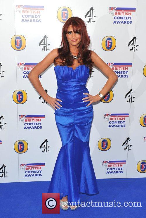 Amy Childs British Comedy Awards 2010 held at...