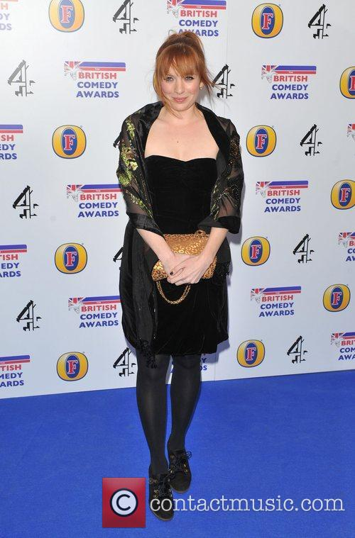 Guest British Comedy Awards 2010 held at the...