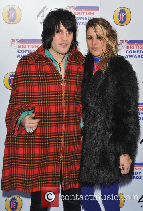 Noel Fielding and guest British Comedy Awards 2010...