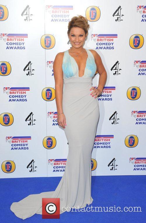 Sam Faiers British Comedy Awards 2010 held at...