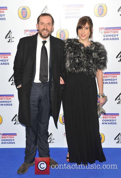 Ben Miller and guest British Comedy Awards 2010...