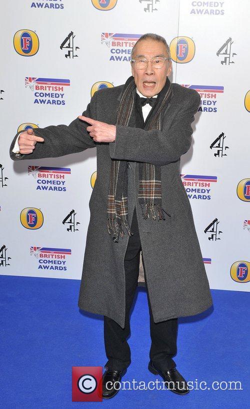 Burt Qwouk British Comedy Awards 2010 held at...