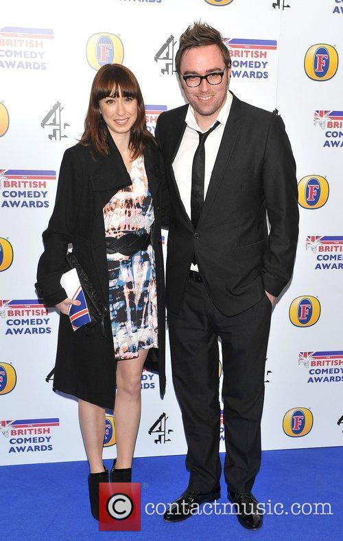 Danny Wallace and guest British Comedy Awards 2010...