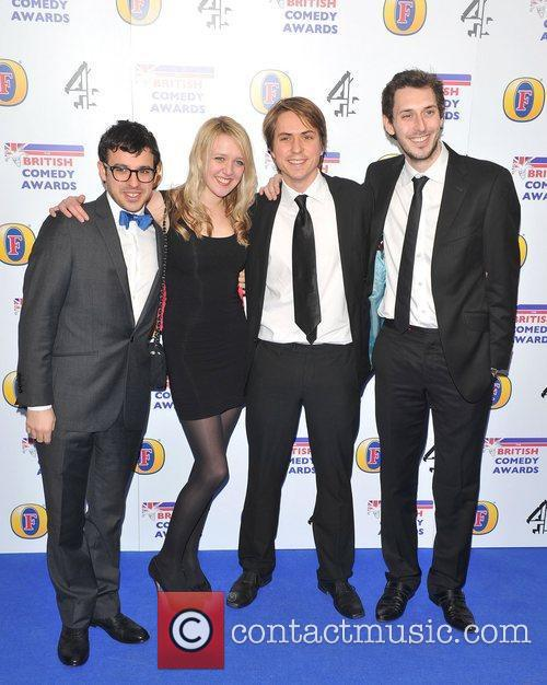 Guests British Comedy Awards 2010 held at the...