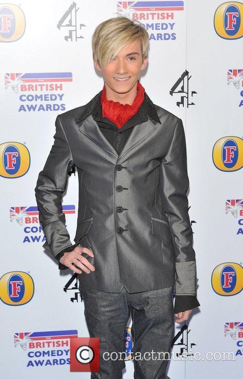 Harry Derbidge British Comedy Awards 2010 held at...