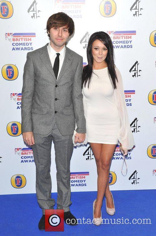 James Buckley and guest British Comedy Awards 2010...