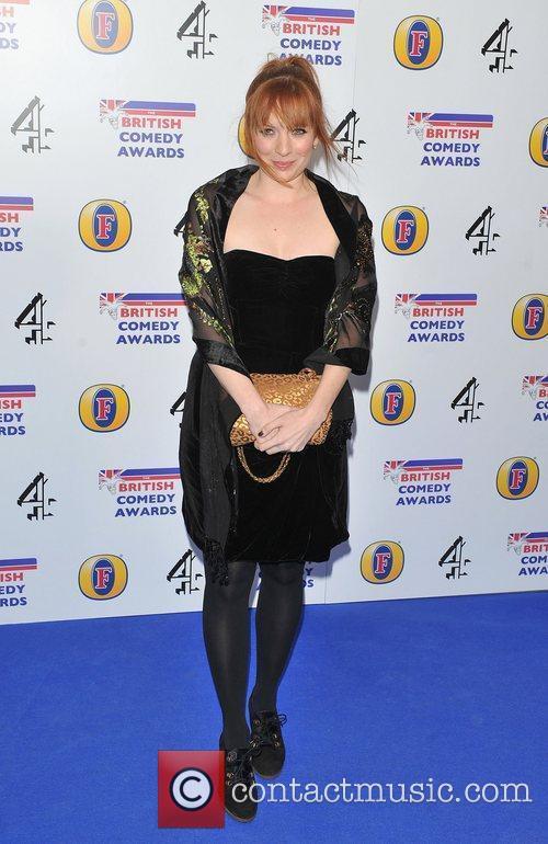 Katheryne Parkinson British Comedy Awards 2010 held at...
