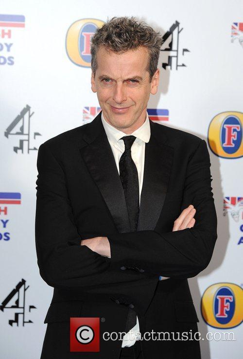 Peter Capaldi british comedy awards