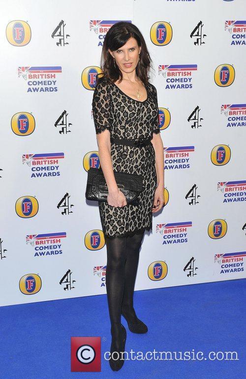Ronni Ancona British Comedy Awards 2010 held at...