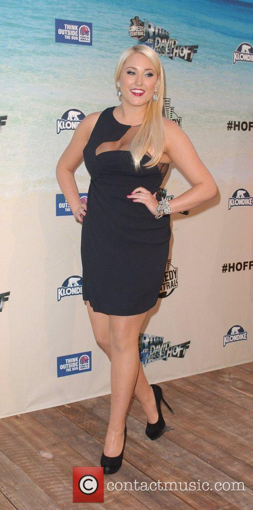 Hayley Amber Hasselhoff Comedy Central Roast Of David...