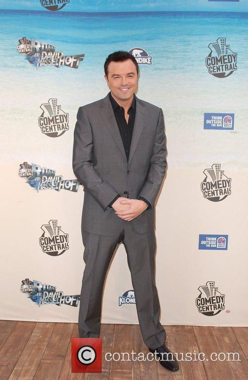 Seth MacFarlane Comedy Central Roast Of David Hasselhoff...