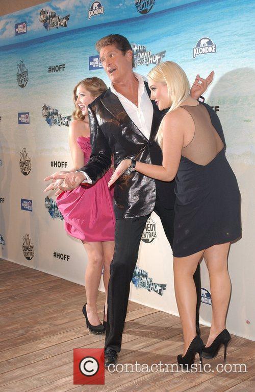 Taylor Ann Hasselhoff, David Hasselhoff and Hayley Amber...