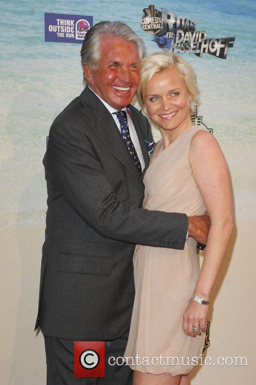 George Hamilton and Barbara Sturm  Comedy Central...