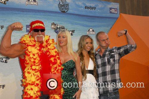 Nick Hogan, David Hasselhoff and Hulk Hogan 1